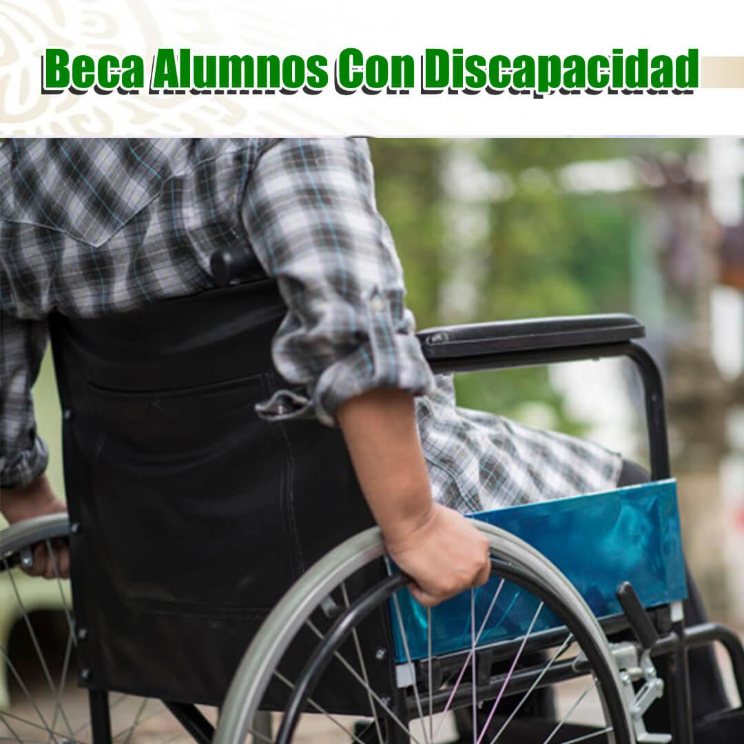 Beca para discapacitados