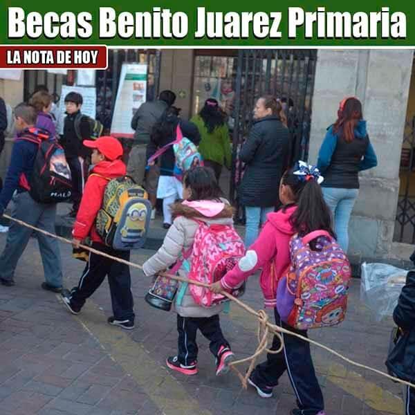 Becas de Primaria en México