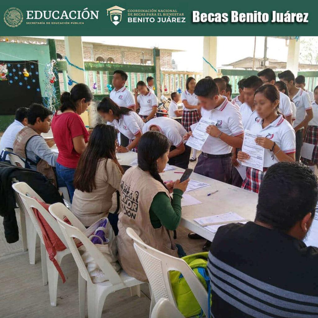 Registro para Obtener una Beca Benito Juárez