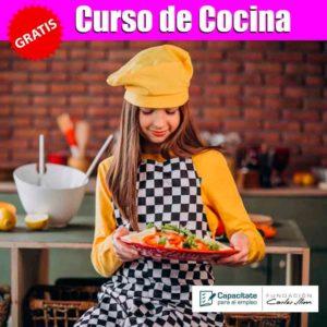Curso de cocina Gratis